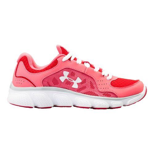 Kids Under Armour Girls PS Assert IV Running Shoe - Success 13.5