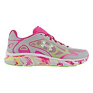 Kids Under Armour Girls GS Micro G Pulse MC Running Shoe