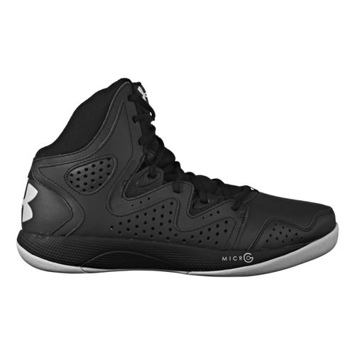 Mens Under Armour Micro G Torch 2 Court Shoe - Black 15