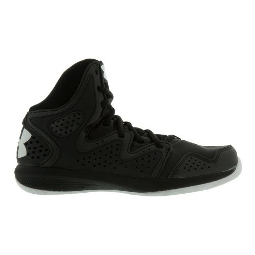 Kids Under Armour Boys GS Torch 2 Court Shoe - Black 4