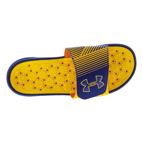 Mens Under Armour Playmaker IV SL Sandals Shoe - Caspian 10