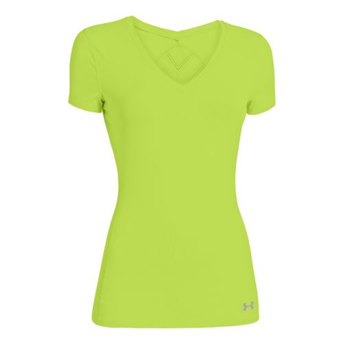 Womens Under Armour Armourvent Short Sleeve Technical Tops - X-Ray XS