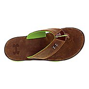 Mens Under Armour Toxic Six Leather T Sandals Shoe