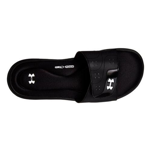 Womens Under Armour Ignite VI SL Sandals Shoe - Black 10