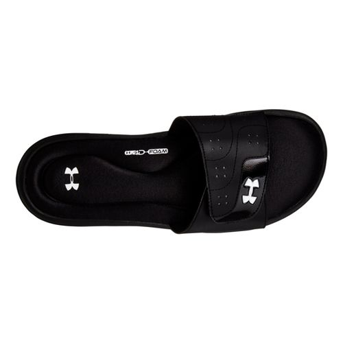 Womens Under Armour Ignite VI SL Sandals Shoe - Black 7