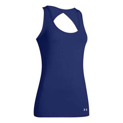 Womens Under Armour Armourvent Tanks Technical Tops - Caspian XL