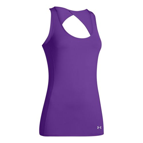 Womens Under Armour Armourvent Tanks Technical Tops - Pride XL
