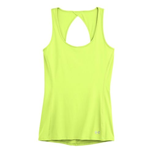 Womens Under Armour Armourvent Tanks Technical Tops - X-Ray XS