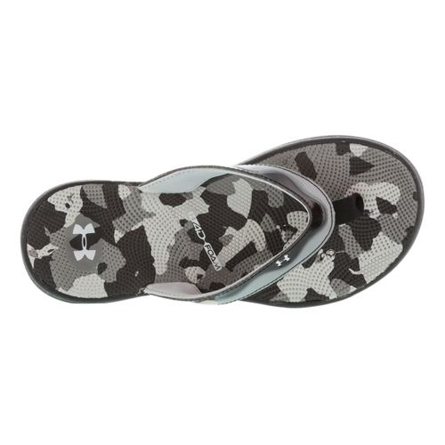Womens Under Armour Marbella Sport VT Sandals Shoe - Black/Grey 12