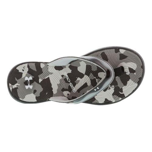 Womens Under Armour Marbella Sport VT Sandals Shoe - Black/Grey 8