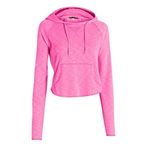 Womens Under Armour UA Rollick Warm-Up Hooded Jackets - Chaos XS