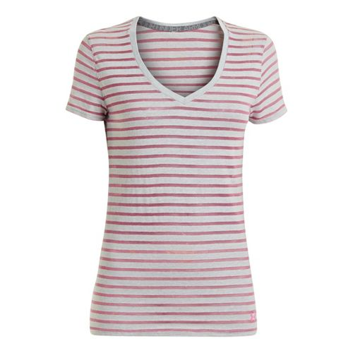 Women's Under Armour�UA Charged Cotton Legacy Burnout Stripe T