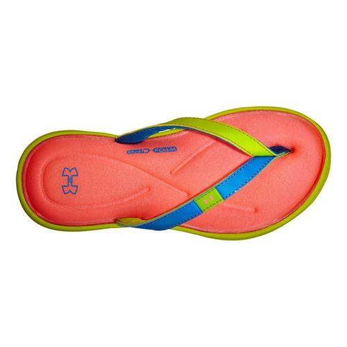 Kids Under Armour Girls Marbella IV T Sandals Shoe - Bitter 5