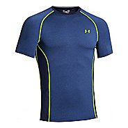 Mens Under Armour HeatGear Sonic Armourvent Short Sleeve Technical Tops