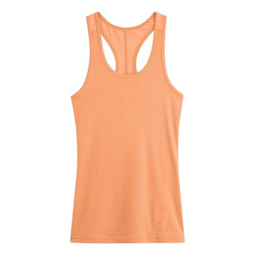 Womens Under Armour UA Victory Tank Technical Tops - After Glow M