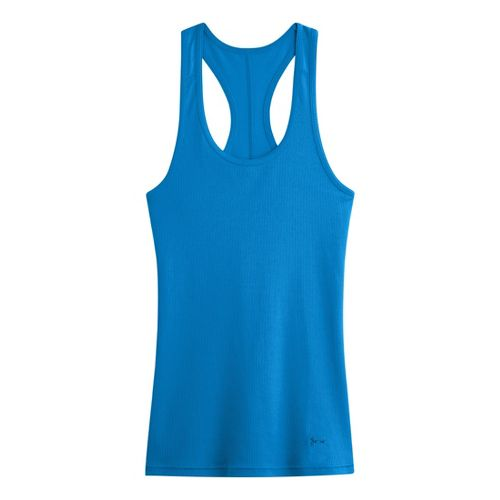 Womens Under Armour UA Victory Tank Technical Tops - Electric Blue S