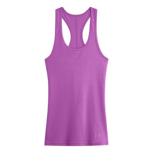 Womens Under Armour UA Victory Tank Technical Tops - Exotic Bloom XS