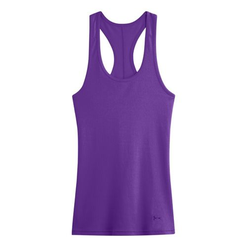 Womens Under Armour UA Victory Tank Technical Tops - Pride L