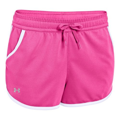 Womens Under Armour UA Rally Shorts - Chaos/White XS