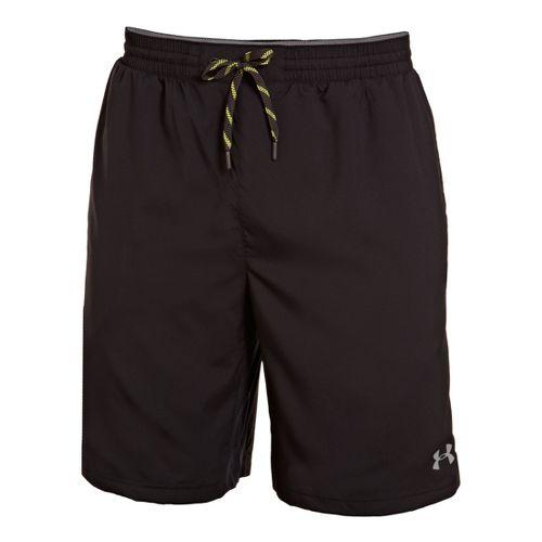 Mens Under Armour Armourvent Unlined Shorts - Black/Graphite M