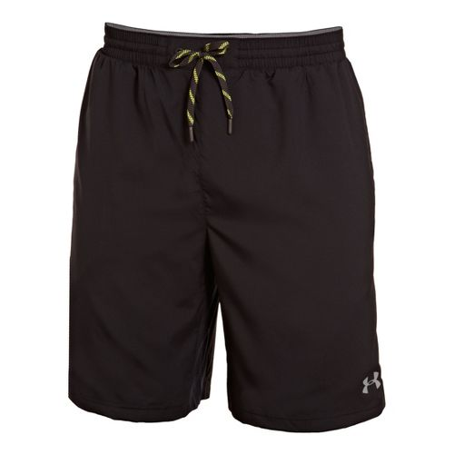 Mens Under Armour Armourvent Unlined Shorts - Black/Graphite XXL