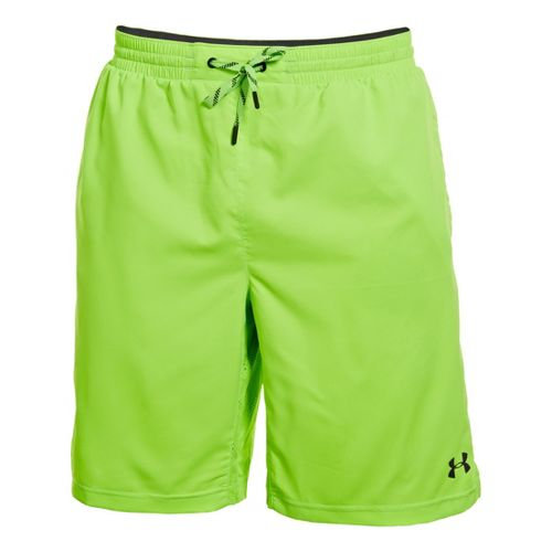 Mens Under Armour Armourvent Unlined Shorts - Hyper Green M