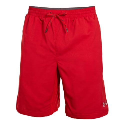 Mens Under Armour Armourvent Unlined Shorts - Red XL