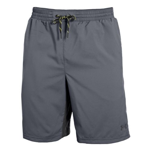 Mens Under Armour Armourvent Unlined Shorts - Steel XL