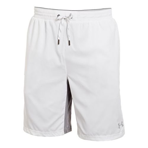 Mens Under Armour Armourvent Unlined Shorts - White XL