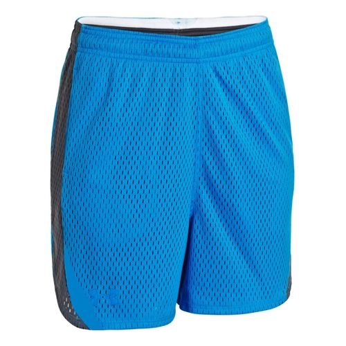 Womens Under Armour UA Trophy Lined Shorts - Electric Blue/Lead XL