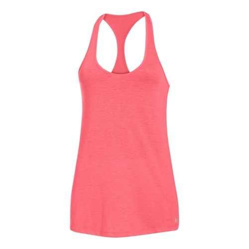 Womens Under Armour UA Achieve T-Back Tanks Technical Tops - Brilliance XS
