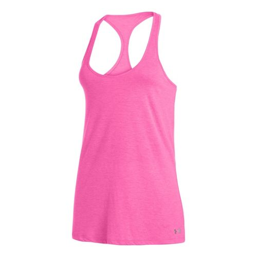 Womens Under Armour UA Achieve T-Back Tanks Technical Tops - Chaos M