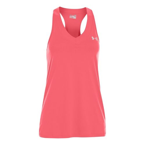 Womens Under Armour UA Tech Sleeveless Technical Tops - Brilliance XL