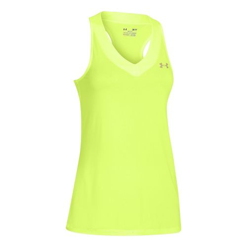 Womens Under Armour UA Tech Sleeveless Technical Tops - X-Ray XL