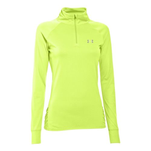 Womens Under Armour UA Tech Long Sleeve 1/2 Zip Technical Tops - X-Ray XS