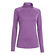 Womens Under Armour UA Tech Long Sleeve 1/2 Zip Technical Tops