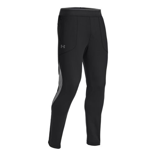 Mens Under Armour X-Alt Knit Tapered Full Length Pants - Black M