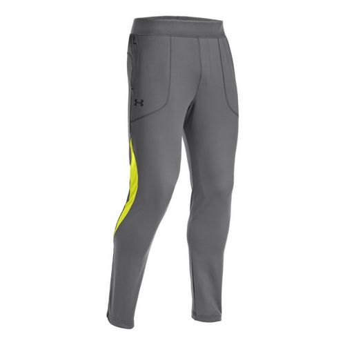 Mens Under Armour X-Alt Knit Tapered Full Length Pants - Graphite M