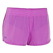 Womens Under Armour UA Fly-By Knit Lined Shorts