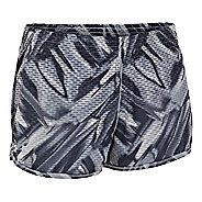 Womens Under Armour UA Fly-By Printed Knit Lined Shorts