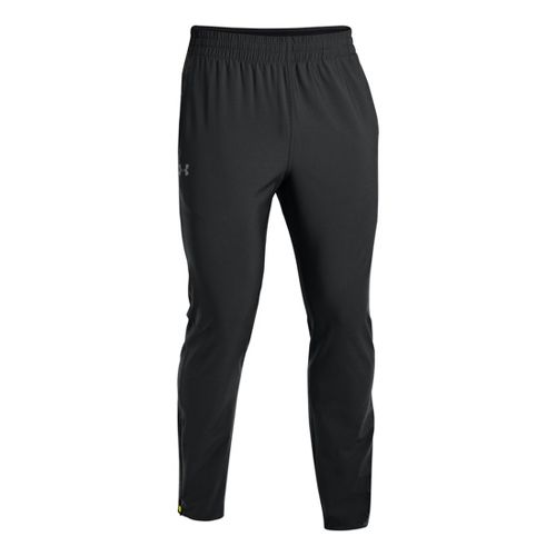 Mens Under Armour X-Alt Woven Tapered Full Length Pants - Black XXLT