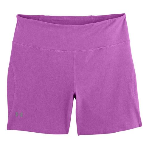 Womens Under Armour UA Stunner Unlined Shorts - Exotic Bloom Heather L