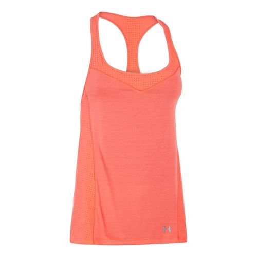 Womens Under Armour UA Stunner Perf Tanks Technical Tops - Brilliance S