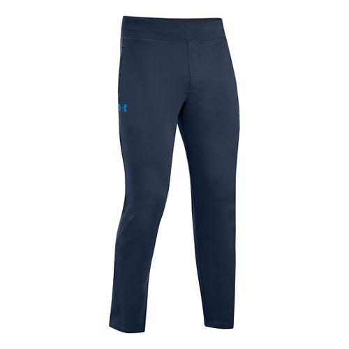 Mens Under Armour X-Alt Knit Full Length Pants - Academy/Electric Blue MT