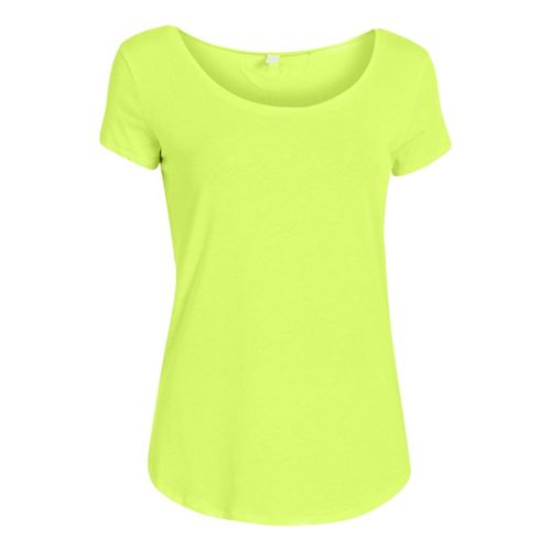 Womens Under Armour UA Studio Cross-Town T Short Sleeve Technical Tops - X-Ray L