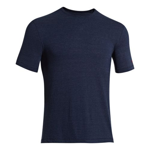 Mens Under Armour Charged Cotton Tri-Blend Crew T Short Sleeve Technical Tops - Academy L ...