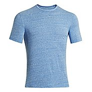 Mens Under Armour Charged Cotton Tri-Blend Crew T Short Sleeve Technical Tops