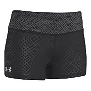 Womens Under Armour Heatgear Sonic Printed Shorty Fitted Shorts