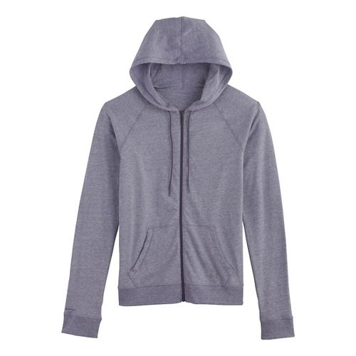 Womens Under Armour UA Charged Cotton Legacy Full Zip Hoody Warm-Up Hooded Jackets - Twilight ...