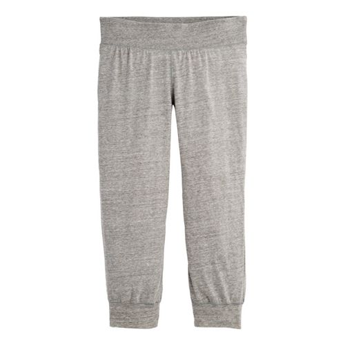 Womens Under Armour UA Charged Cotton Legacy Capri Pants - Charcoal M